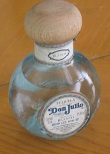 Don Julio blanco tequila bottle
