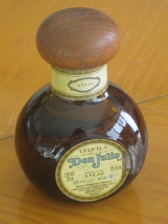 Don Julio anejo tequila bottle
