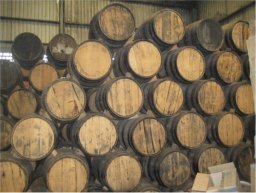 Blanco tequila is aged into reposado and anejo in oak and redwood barrels.